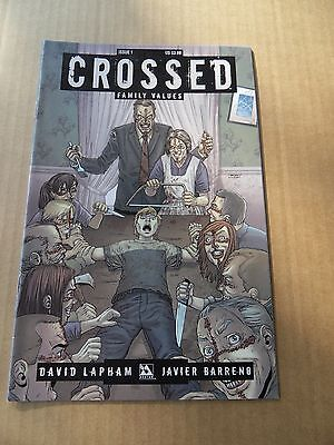 Crossed : Family Values 1.  Avatar  Press 2010 - VF / NM