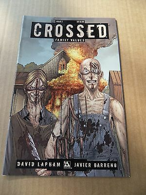 Crossed : Family Values 2.  Avatar  Press 2010 - VF / NM