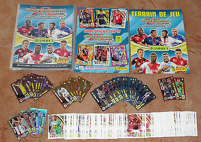 Adrenalyn Foot 2016-2017 Ligue 1 official Binder + 243 different cards NEW