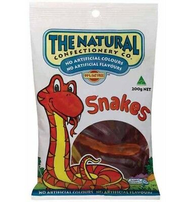 The Natural Confectionery Co. Snakes 200g x 12