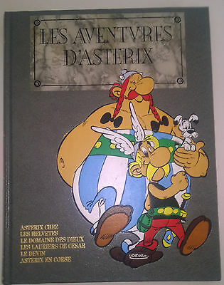 LES AVENTURES D'ASTERIX Intégrale luxe ROMBALDI Tome V 5- 1990