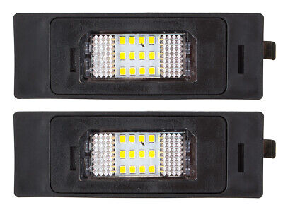 REAR NUMBER LICENSE PLATE LIGHT LAMP 2x LED FOR ALFA ROMEO 147 156 159 166 MITO