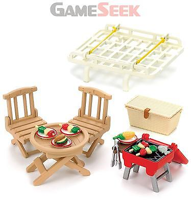 Sylvanian Families Roof Rack With Picnic Set - Toys Brand New Free Delivery