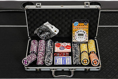 PRE-ORDER: WPC Poker Chips Set - 300 Piece Numbered Poker Set with Free Extras
