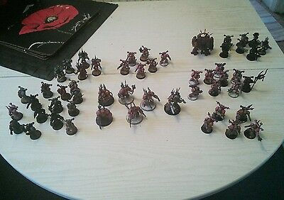 chaos space marine army warhammer 40k