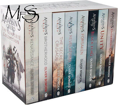 Assassins Creed The Complete Collection 8 book box set * Oliver Bowden