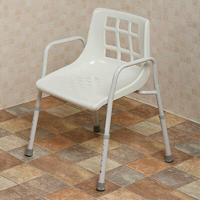 NRS Adjustable Height Shower Chair