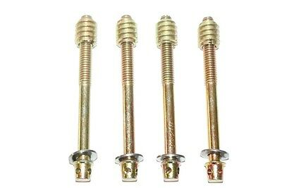 4 BOLTS Screws to Repair French Antique BED or ARMOIRE Beds Replacement Fixings
