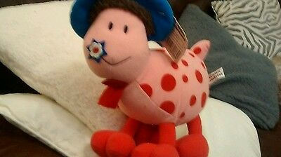 Large Ermintrude soft toy.magic roundabout.with tags.christmas stocking filler