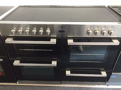 Graded Belling Db4110E 110 Cm Electric Range With Ceramic Hob Stainless Steel