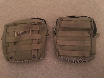 1x blackhawk molle utility pouch, coyote tan (2 in stock)