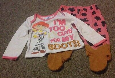 Baby Girl Toy Story Pyjamas 6-9 Months