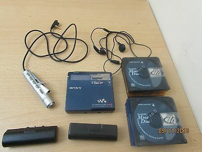 Sony MZ-N1 MD Walkman Recordable Personal Minidisc Player Type R with extras
