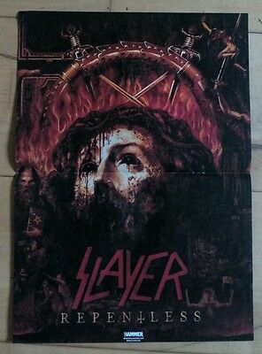 Slayer & Marilyn Manson - Double Sided Poster