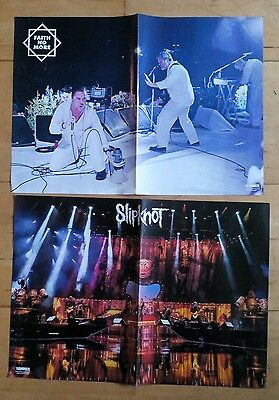Faith No More & Slipknot - 2x Double Sided Posters