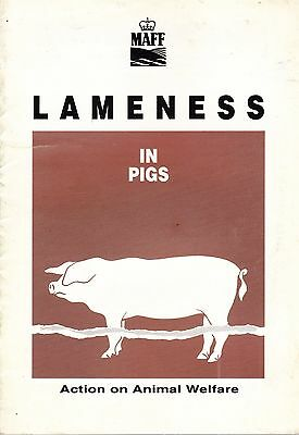 Lameness in Pigs (MAFF - Action on Animal Welfare)