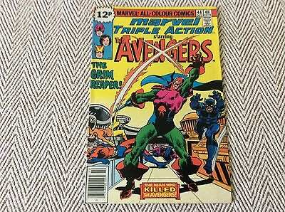 THE AVENGERS ANNUAL No:44 Boarded & Sleeved - COMBINED POSTAGE OFFERED