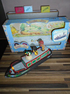 Rosie And Jim - Ragdoll - Barge Narrowboat & Figures - Duck - River - Vgc