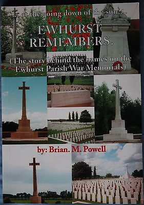 Ewhurst Remembers: the Story Behind the Names on the Ewhurst Parish War Memorial