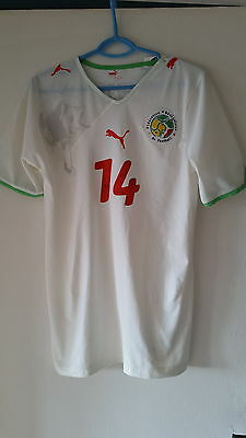 Maillot Puma Sénégal 100% Player Issue Stock Pro AUTHENTIC RARE