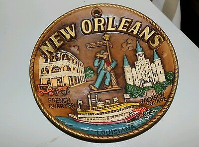 New Orleans decorative plate