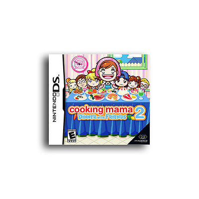 COOKING MAMA 2 : Dinner With Friends (Nintendo DS 2008)