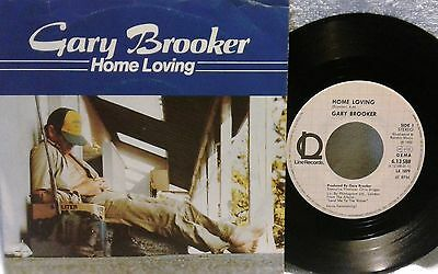 "# G. Brooker (P. Harum Clapton Harrison) HOME LOVING GERMANY '82 (EX-) 7""-S00870"