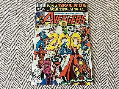 THE AVENGERS No:200 Boarded & Sleeved - COMBINED POSTAGE OFFERED
