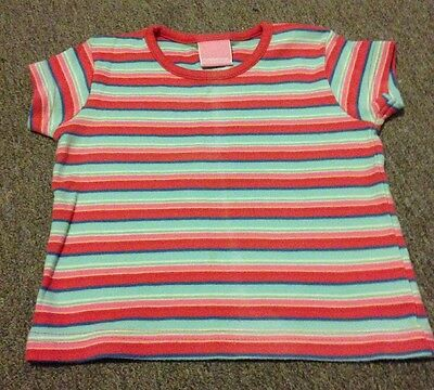 Baby Girl Short Sleeved Top 9-12 Months