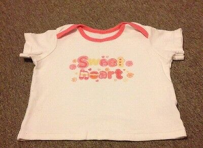 Baby Girl Short Sleeved Top 12-18 Months