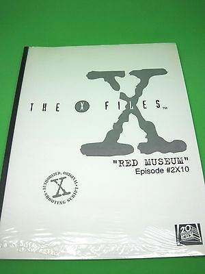 The X-Files Authorized Original Shooting Script for RED MUSEUM Episode #2x10