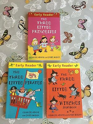 The Three Little witches/pirates/prIncesses EARLY READERS (3 books)