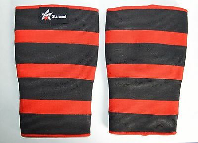 Starnest Fitness: 2 Ply Weight Lifting Knee Sleeves