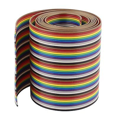 1m 3.3ft 50 Pin Flexible Flat Ribbon Cable IDC Wire 1.27mm Pitch SP