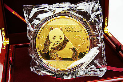 CHINA - 1 Kg Goldpanda 2015 inkl. Box und Zertifikat - TOP