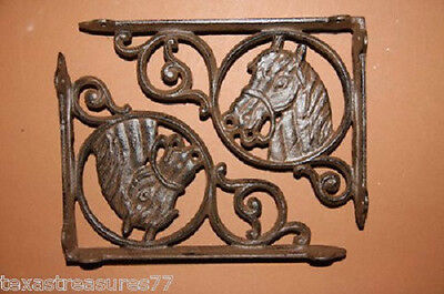 (6), Horse Head,shelf Brackets,corbels, Western Decor, Country Decor, B-4