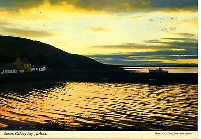 Co. Galway: Sunset on Galway Bay