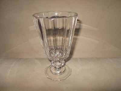 Gorgeous heavy lovely quality angular antique glass large knop chipped base