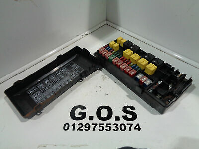98 - 04 Land Rover Discovery 2 Td5 & V8 Fuse Box With Fuses & Cover Yqe103310