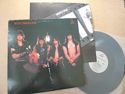 """WITCHKILLER Day Of The Saxons 12"""" Mini LP Metal Blade Records MBR 1011 & insert"""