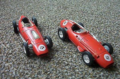 2x F1 Racing Cars by Yesteryear; Ferrari Dino and a Maserati 250F(0297)