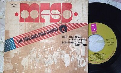 "Rare Portugal Press. MFSB. TSOP (sound Of Philadelphia) 7"" 45"