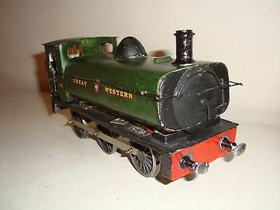 "O scale = GWR 0-6-0 Pannier Tank  ""Spares or repair""  Scratch/commercial built"