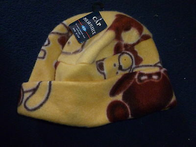 Children's Fleece set, 2 pairs of gloves and 1 hat, small girls or boys.