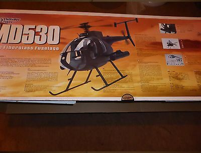 MD530 Thunder Tiger Raptor RARE NEW old stock Body,Fuselage Kit 30/50 Helicopter