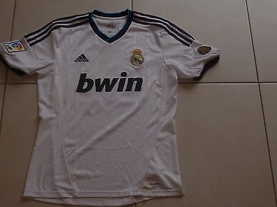 Maillot foot football REAL MADRID Adidas Ozil n°10 camiseta shirt taille M