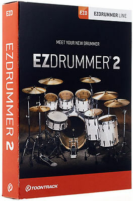Toontrack EZ Drummer 2 Drumsampler with internal Sound
