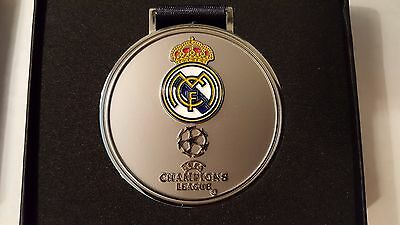 UEFA Champions League Real Madrid FC Medal Milan 2016 Limited Edition the 11th