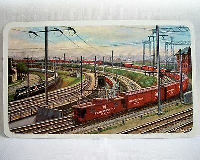 PENNSYLVANIA RAILROAD  Pocket / WALLET Calendar 1961