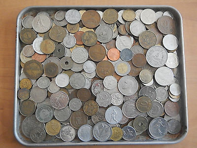 3 Pounds lbs Assorted Foreign Coins World Nice Large Lot 90